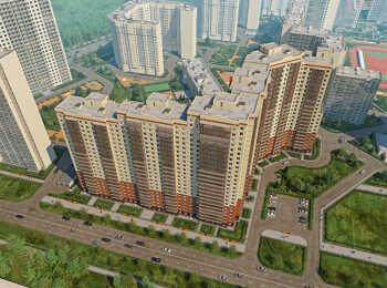 Вил на жилой комплекс сверху